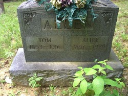 Mrs Alice Melinda <i>Williams</i> Allen