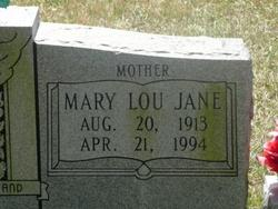 Mary Lou Jane Andrews