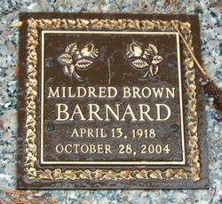 Mildred <i>Brown</i> Barnard