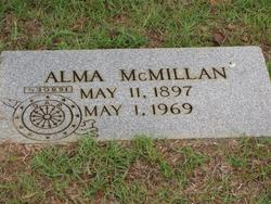 Alma <i>McMillan</i> Armstrong