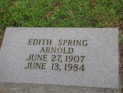 Edith <i>Spring</i> Arnold