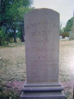 Mary Alexander <i>Colville</i> Marshall