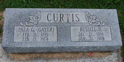 Inza G <i>Gayer</i> Curtis
