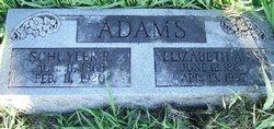 Elizabeth Lizzie <i>Marriott</i> Adams