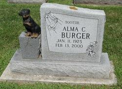 Alma C Tootsie Burger