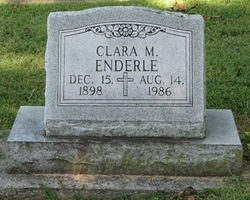 Clara M Enderle