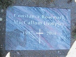 Constance Rosemary <i>MacCallum</i> Dempsey