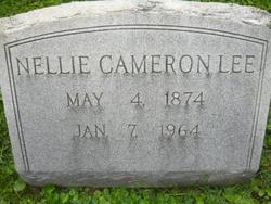 Nellie <i>Cameron</i> Lee