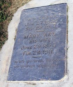 Mary Ann <i>Barber</i> Clark