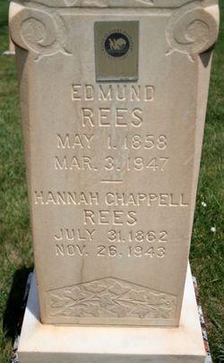 Hannah <i>Chappell</i> Rees