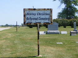 Ackley Christian Reform Cemetery (Rural Ackley)