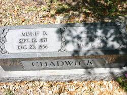 Minnie <i>Davis</i> Chadwick