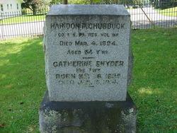 Catherine Katie <i>Snyder</i> Chubbuck