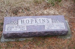 Lillian Isabell Lilly Bell <i>Champnois</i> Hopkins