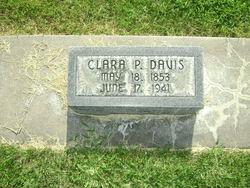 Clara Priscilla <i>Harris</i> Davis