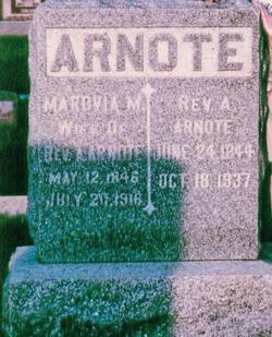Marovia M Rovia <i>Burgess</i> Arnote