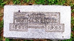 Bertha E. Metz <i>Frick</i> Priebe