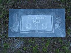 Nina (Rachel) Baze