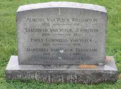 Elizabeth <i>Van Vleck</i> Johnston
