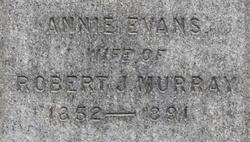 Annie <i>Evans</i> Murray