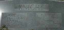 Wade F Knight