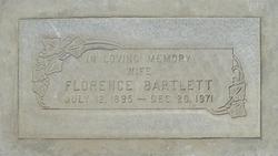Florence <i>Shelley</i> Bartlett