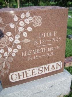 Elizabeth <i>Kemble</i> Cheesman