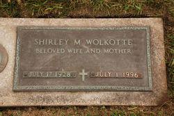 Shirley M. <i>Backus</i> Wolkotte