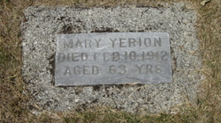 Mary <i>Manning</i> Yerion