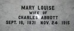 Mary Louise <i>Elmore</i> Abbott