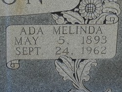 Ada Melinda <i>Hurt</i> Allison