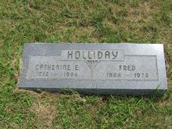 Catherine Elsie <i>Ropp</i> Holliday