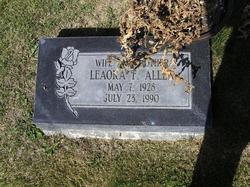 Leaora Florence <i>Wylie</i> Allen