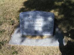 Carma Louise <i>Burnside</i> Ashton