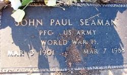 John Paul Seaman