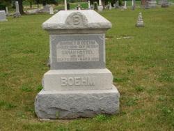 Sarah <i>Hottel</i> Boehm