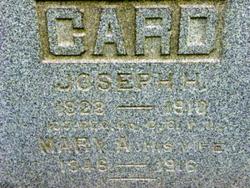 Mary A <i>Goodwill</i> Card