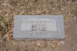 Zuleme <i>Hoyer</i> Burgess