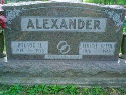 Louise <i>Keith</i> Alexander