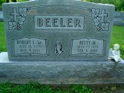 Betty M. <i>Hammons</i> Beeler