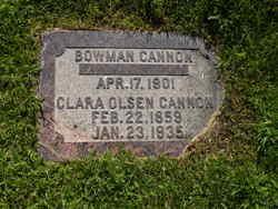 Clara Gunhilde <i>Olsen</i> Cannon
