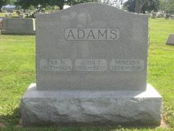 Eva N <i>McKinley</i> Adams