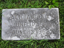 Alicia C. <i>Carvill</i> Cox