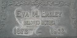Eva May Evie <i>Burke</i> Bailey