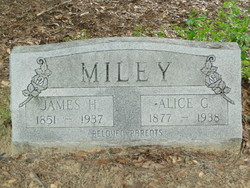 Alice G <i>Dyess</i> Miley