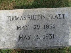 Thomas Ruffin Pratt, Sr