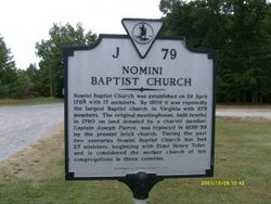Nomini Baptist Church Cemetery