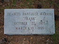 Francis Frank Dantzler Marion