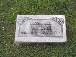 Bessie Lee <i>Thornbrugh</i> Anderson