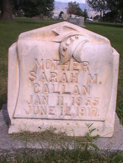 Sarah M <i>Marshall</i> Callan
